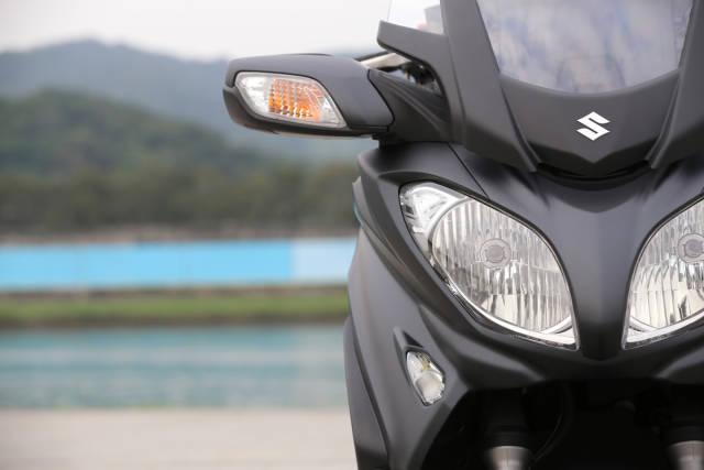 舒适大踏板SuzukiAN650评测