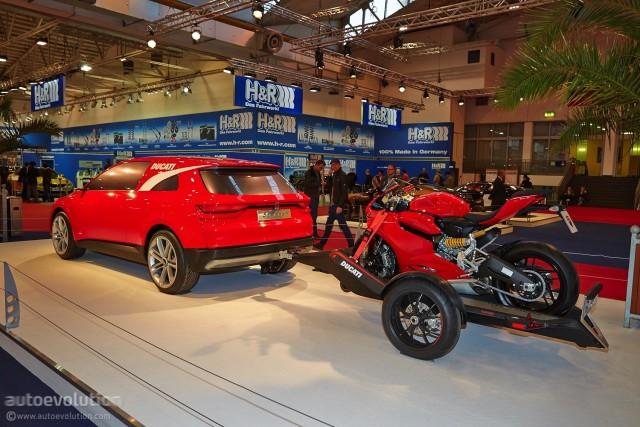 杜卡迪跨界SUV?由法拉利设计师打造
