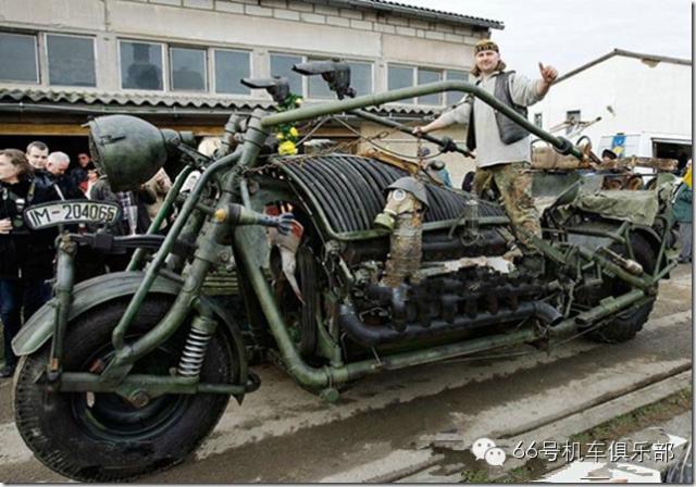 德国发烧友打造世界上最大的侉子
