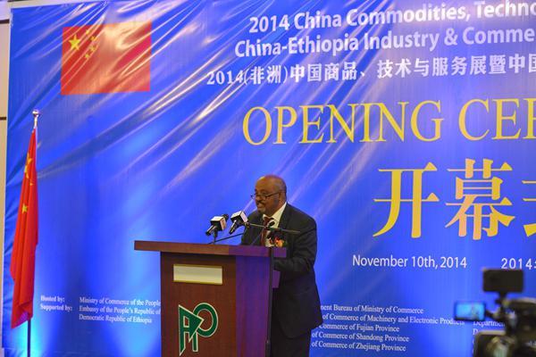 三雅参加(非洲)中国商品技术服务展受瞩目