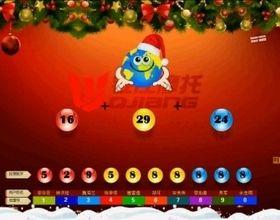 钱江第二季数字幸运星抽奖演示视频圣诞版