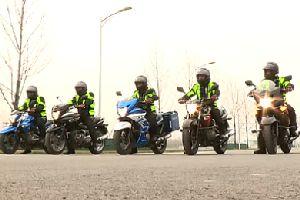 为摩托车正名:GW250自由之旅首都合法上高速!