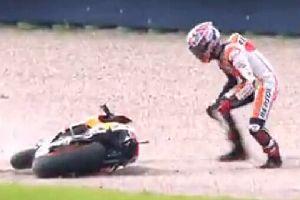 痛到骨头里!MotoGP™ 2014重大事故集锦