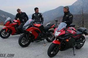 2014年日系中量级运动摩托车对决