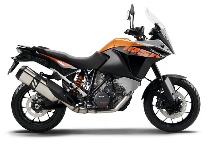 更加轻量化KTM2015'1050Adventure探险