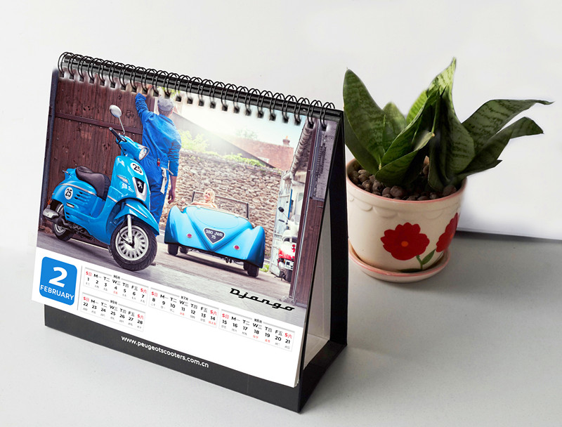 开启属于你的2015标致摩托送台历啦!