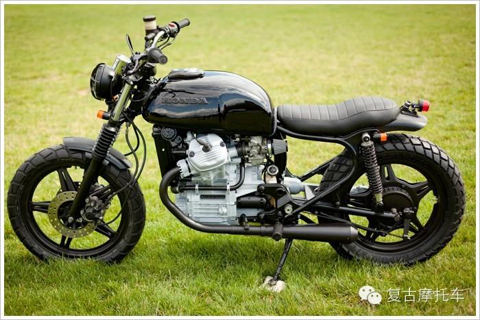 Hondacx500改装复古摩托车