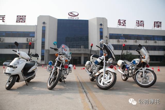 济南轻骑警务摩托车宣传片