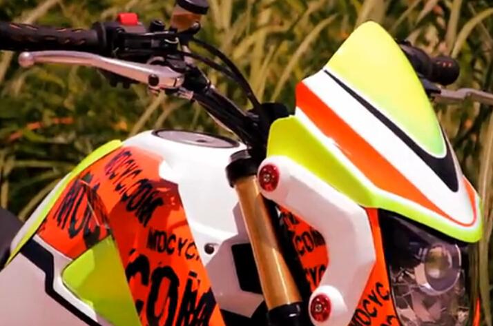 本田MSX125小猴子摩托车超级改装
