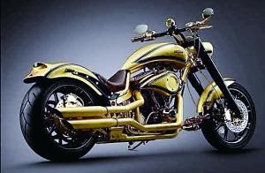 世界最贵摩托车亮相德国汉堡