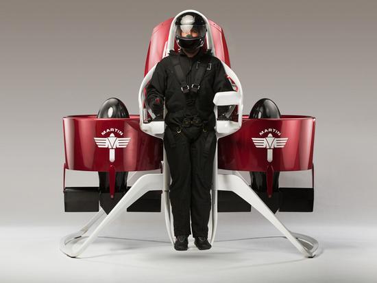 私人飞行背包:酷炫到没朋友的空中摩托车