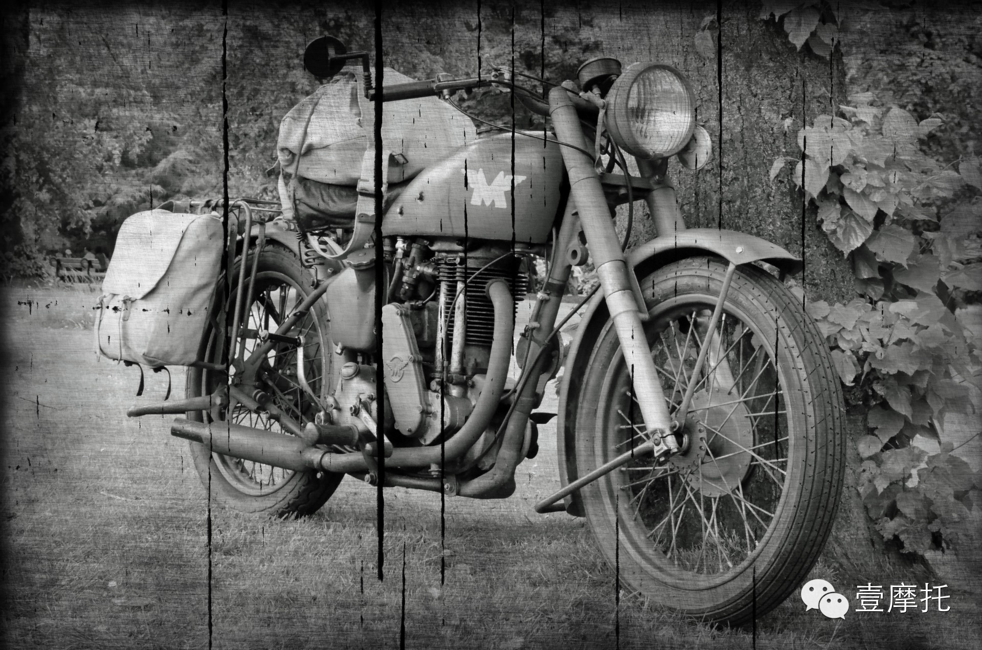 17年的摩托车,17年的穷游