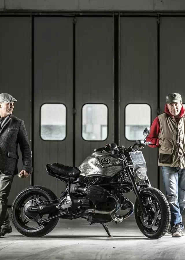 金属感超强爆改:宝马摩托车R1150R