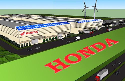 本田欲在印尼开建第四间工厂年产规模110万辆