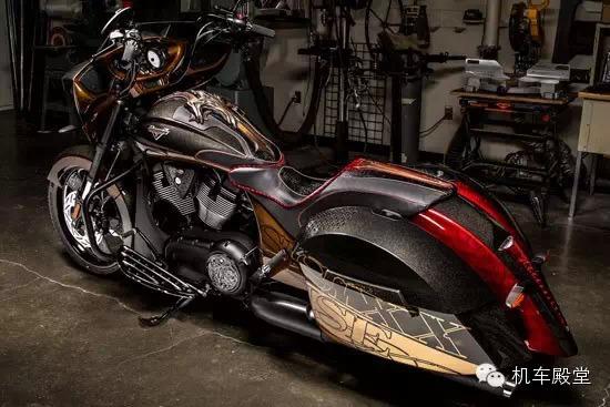 奢靡到底的摩托车改装