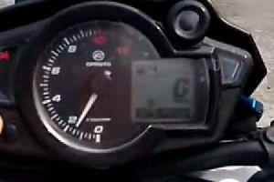 春风150NK清晰细节发动机声音