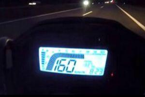 本田HONDA CB500F最高时速测试