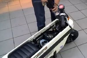 1981年本田限量折叠车载摩托车