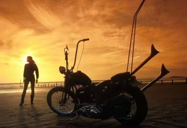 那些高车把彰显个性的摩托