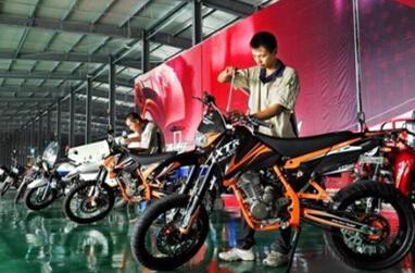 2014年1-11月重庆市摩托车整车产量分析