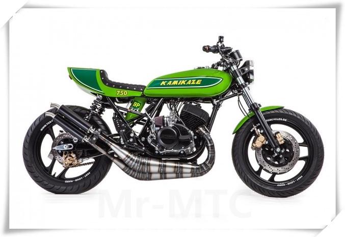 经典战车:川崎三缸摩托车750H2