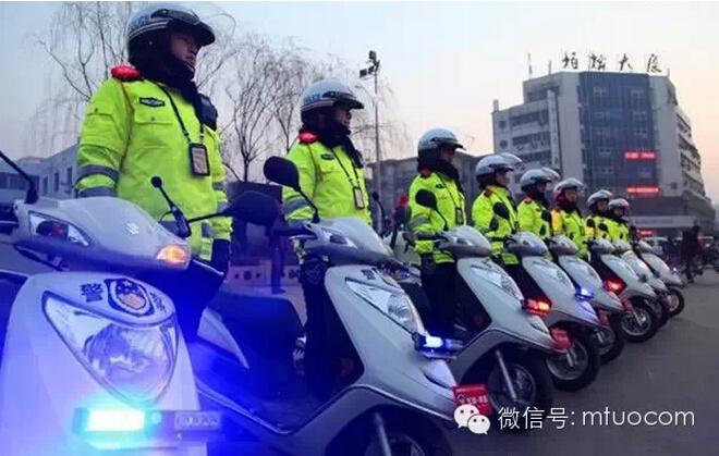 临汾正式成立女子交警澳门永利官网巡逻队