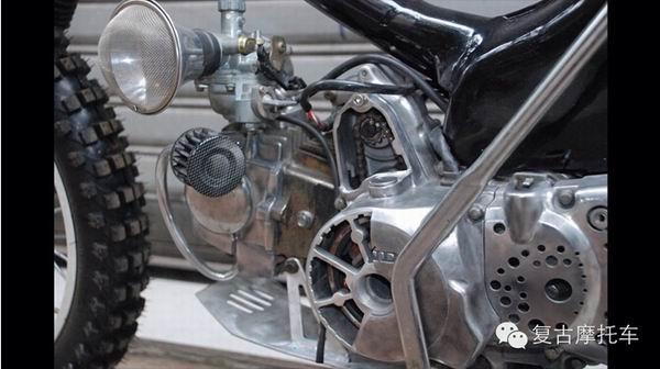 本田摩托车110弯梁改装