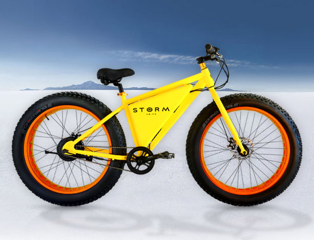 Storm:全世界最亲民的电动自行车