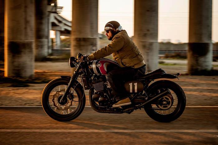 复古改装凯旋摩托车LegendTT欣赏