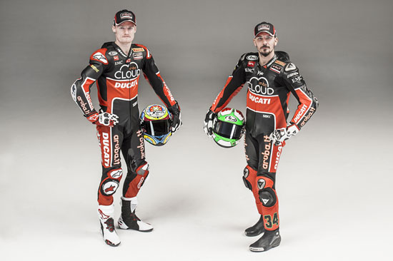 杜卡迪超级摩托车队首次公开亮相阿雷佐