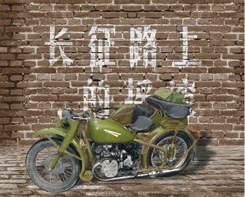 创造奇迹的井冈山摩托车