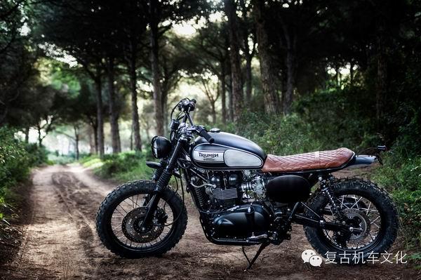 复古改装凯旋摩托车Scrambler欣赏