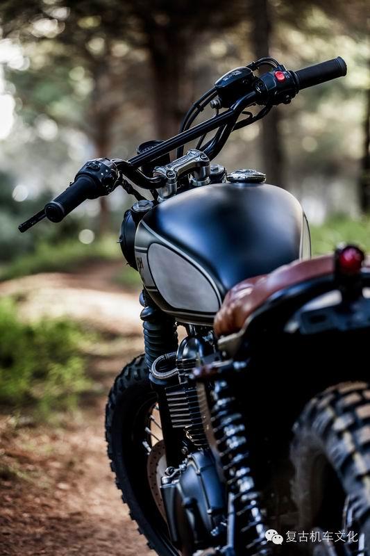 复古改装 凯旋摩托车scrambler欣赏