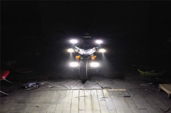 折腾近一个月只为改装宗申RX3灯光