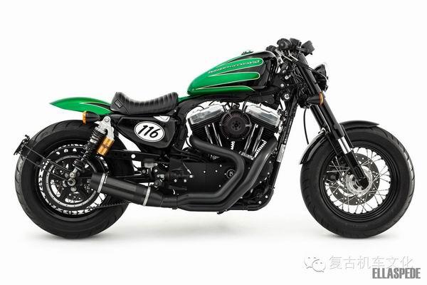 哈雷摩托车Sportster48改装欣赏