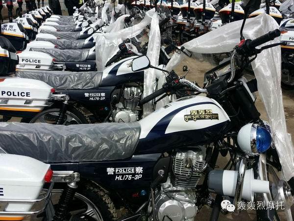 西藏江孜县采购轰轰烈HL175-3P作为警务用车