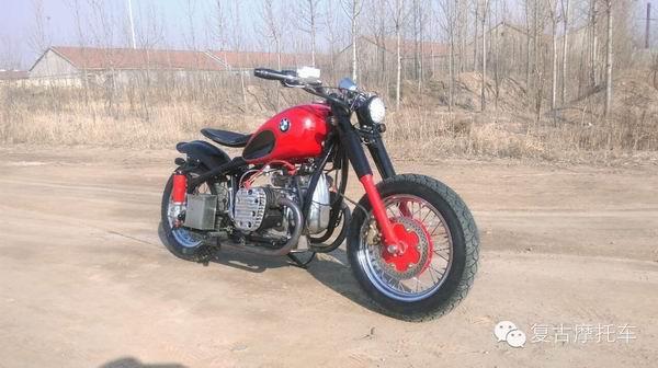 宝马复古摩托车BMWCJ750