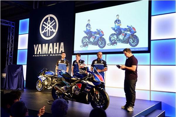 2015全面出击的Yamaha车队仪式启动