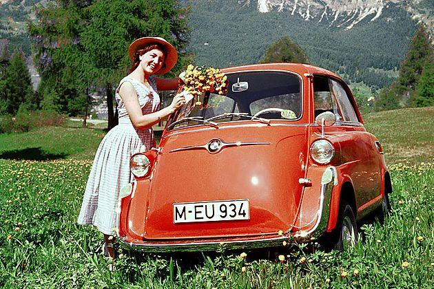 """摩的其实可以棒棒哒""""泡泡车""""宝马Isetta"""