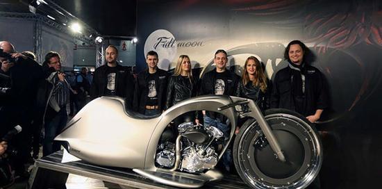 充满未来感的摩托车,拉风程度不亚于终结者