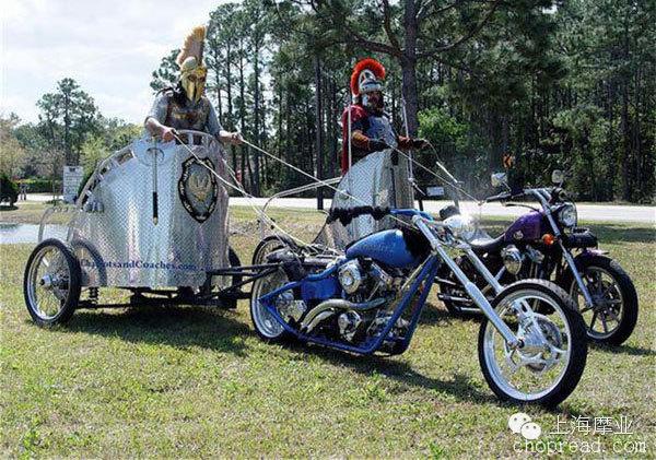 失传的摩托车战车比赛