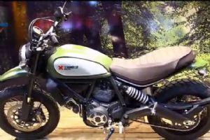 最新米兰车展 杜卡迪超级摩托车Scrambler