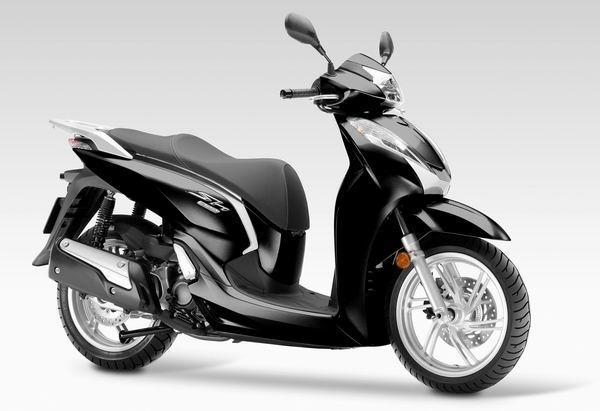欧四排放标准Honda发布2015'SH300i欧洲版