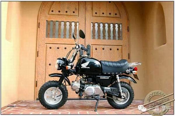 不断提升的动力改装    本田最早的原装猴子车型为50cc