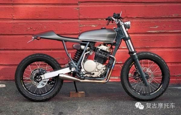 本田复古摩托车HondaXR600R