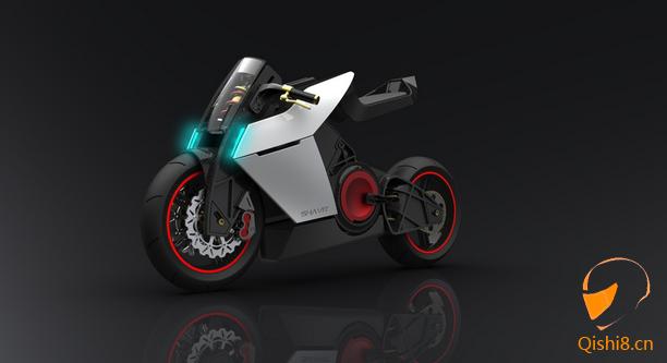 shavit 概念电动摩托车设计