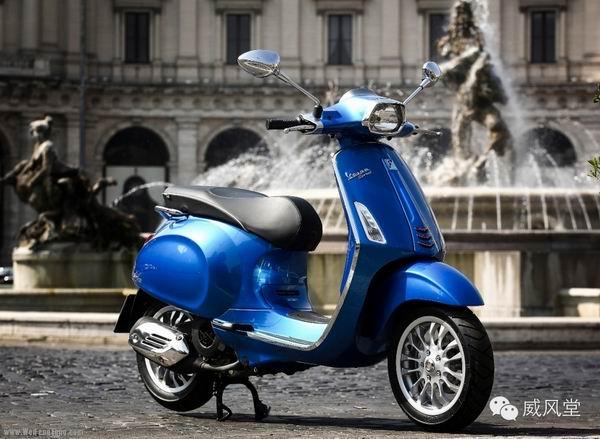 越南工厂PiaggioVespa摩托车生产累计50万台
