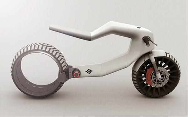 这么酷的电动摩托车,你见过么?