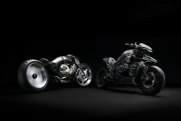 BMWMotorrad发布两部定制款摩托车