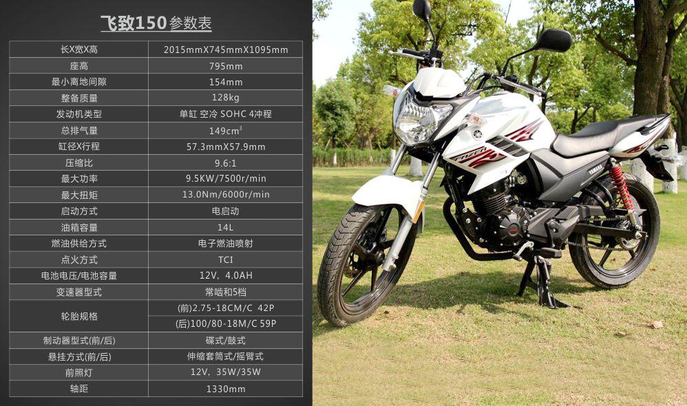 牛摩网 摩托车大全 建设-雅马哈 飞致ys150  发表上市时间:2015/4/9